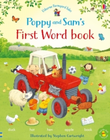 Poppy and Sam's First Word Book, Hardback Book