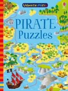Pirate Puzzles x5, Paperback Book