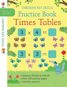 Times Tables Practice Book 6-7, Paperback / softback Book