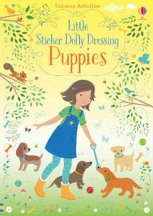 Little Sticker Dolly Dressing Puppies, Paperback / softback Book