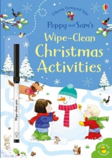 Poppy and Sam's Wipe-Clean Christmas Activities, Paperback / softback Book