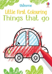 Little First Colouring Things That Go, Paperback / softback Book