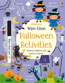Wipe-Clean Halloween Activities, Paperback / softback Book