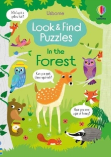 Look and Find Puzzles: In the Forest, Paperback / softback Book