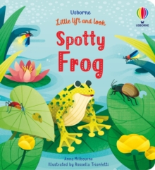 Little Lift and Look Spotty Frog, Board book Book