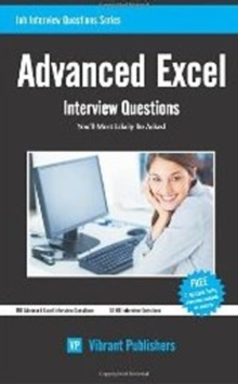 Advanced Excel : Interview Questions You'll Most Likely Be Asked, Paperback / softback Book