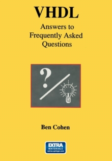 VHDL Answers to Frequently Asked Questions, Paperback / softback Book