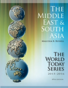 The Middle East and South Asia 2015-2016, Paperback / softback Book