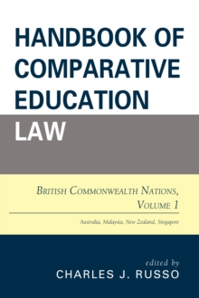 Handbook of Comparative Education Law : British Commonwealth Nations, Paperback / softback Book