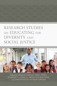 Research Studies on Educating for Diversity and Social Justice, Hardback Book