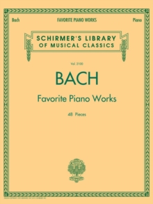 Bach Favorite Piano Works, Paperback Book