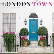 LONDON TOWN 2019 SQUARE WALL CALENDAR, Paperback Book