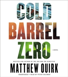 Cold Barrel Zero, CD-Audio Book