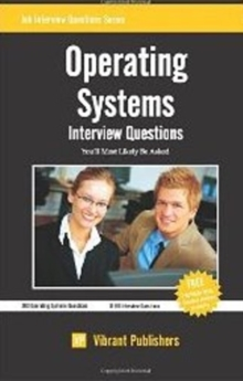 Operating Systems : Interview Questions You'll Most Likely Be Asked, Paperback / softback Book