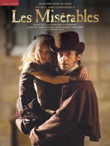 Les Miserables : Easy Piano Selections from the Movie, Paperback Book