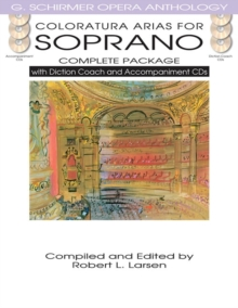 Coloratura Arias For Soprano - Complete Package, Paperback / softback Book