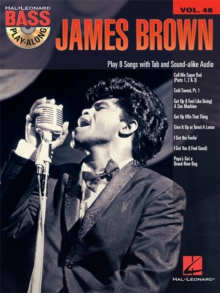 James Brown Bass Play-Along Volume 48, Mixed media product Book