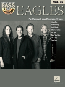 Eagles Bass Play-Along Volume 49, Book Book