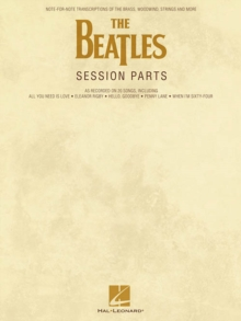 The Beatles : Session Parts, Paperback / softback Book
