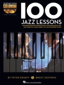 Keyboard Lesson Goldmine : 100 Jazz Lessons (Book/2 CDs), Paperback / softback Book