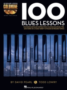 Keyboard Lesson Goldmine : 100 Blues Lessons (Book/Audio), Paperback / softback Book