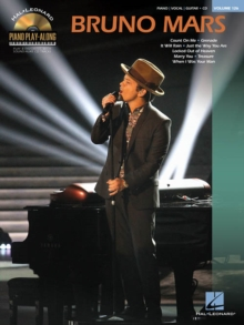 Piano Play-Along Volume 126 : Bruno Mars, Paperback / softback Book