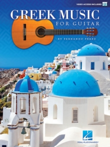 Greek Music For Guitar, Paperback / softback Book