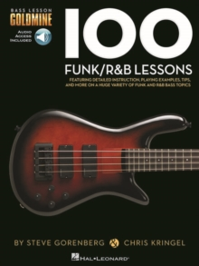 Bass Lesson Goldmine : 100 Funk/R&B Lessons (Book/Online Audio), Paperback / softback Book