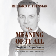 The Meaning of It All, eAudiobook MP3 eaudioBook