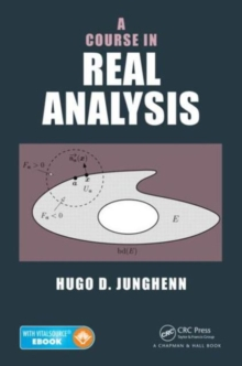 A Course in Real Analysis, Mixed media product Book