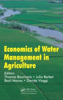 Economics of Water Management in Agriculture, Hardback Book
