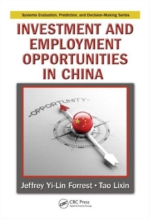 Investment and Employment Opportunities in China, Hardback Book