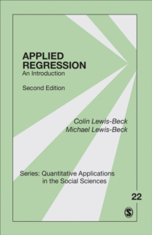 Applied Regression : An Introduction, Paperback / softback Book