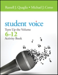 Student Voice : Turn Up the Volume 6-12 Activity Book, Paperback / softback Book