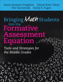 Bringing Math Students Into the Formative Assessment Equation : Tools and Strategies for the Middle Grades, PDF eBook