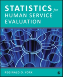 Statistics for Human Service Evaluation, Paperback Book