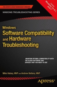 Windows Software Compatibility and Hardware Troubleshooting, Paperback Book