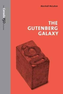 The Gutenberg Galaxy, Paperback Book