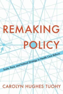 Remaking Policy : Scale, Pace, and Political Strategy in Health Care Reform, Paperback / softback Book