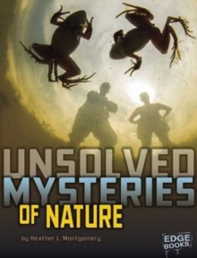Unsolved Mysteries of Nature, Paperback Book