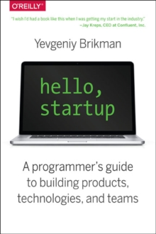 Hello, Startup, Paperback Book