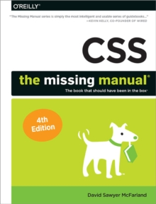 CSS - The Missing Manual, 4e, Paperback Book