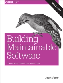 Building Mantainable Software, Java Edition, Paperback Book