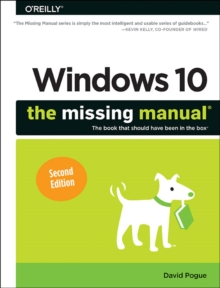 Windows 10 - The Missing Manual 2e, Paperback Book