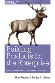 Building Products for the Enterprise, Paperback Book
