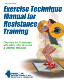 Exercise Technique Manual for Resistance Training, Paperback / softback Book