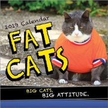 2019 Fat Cats Wall Calendar, Calendar Book