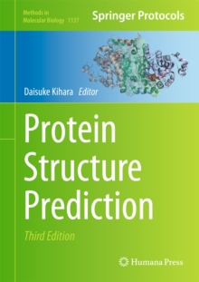 Protein Structure Prediction, Hardback Book