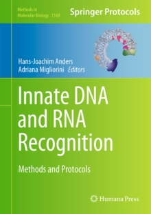 Innate DNA and RNA Recognition : Methods and Protocols, Hardback Book