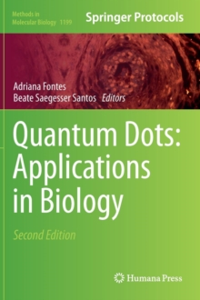 Quantum Dots: Applications in Biology, Hardback Book
